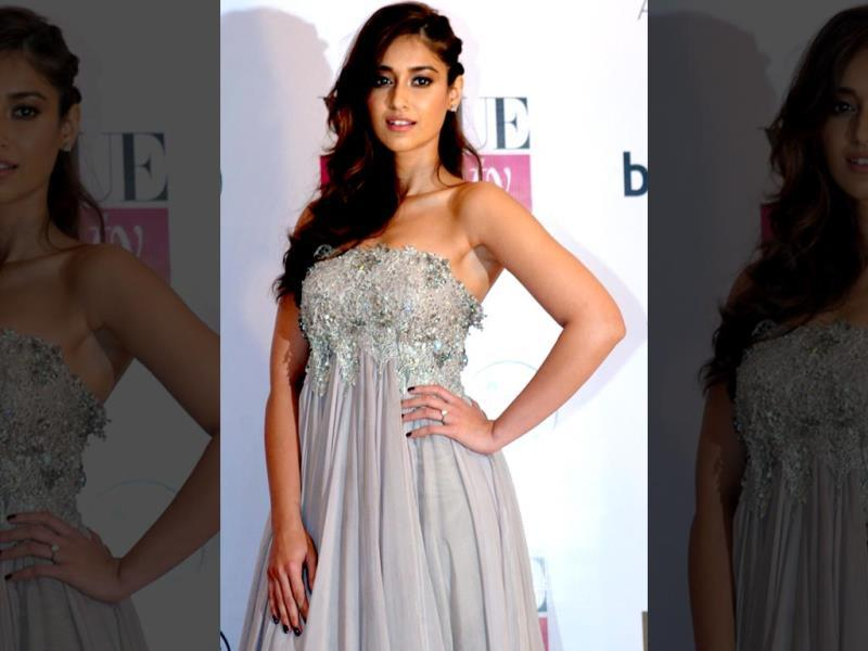 Bollywood actor Ileana D'Cruz at the Vogue Beauty Awards 2014 in Mumbai.(AFP)