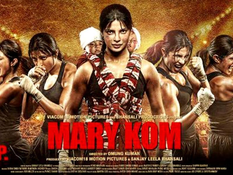 Priyanka Chopra stars as Mary Kom in the biopic on boxing champion.