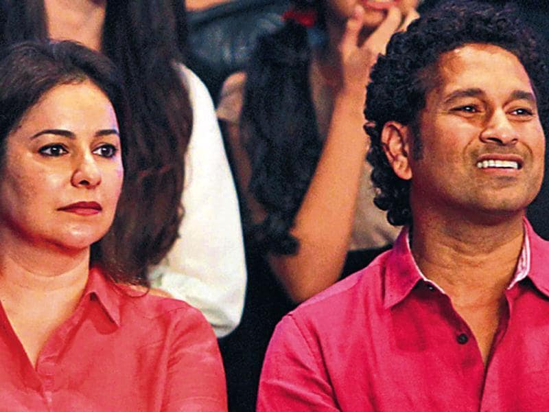 Sachin also came along with family, including wife Anjali and daughter Sara.