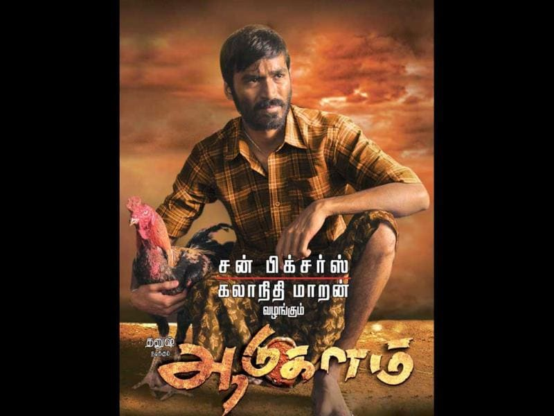 Aadukalam: With Aadukalam, Dhanush delivered, what many believe, his career's best performance. Set in Madurai famous for its cock fights, the film is a wonderful study of ordinary people with real emotions - love, betrayal, ego, innocence - all coming together to make an engaging tale. The film has Taapasee as the female lead.