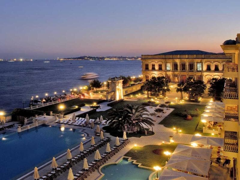 Europe's best hotel isn't found in London or Paris, Rome or Zurich. According to travel professionals, that title belongs to the Ciragan Palace Kempinski Istanbul in Turkey, a property that was formerly an Imperial Ottoman palace. (Text and images: AFP)