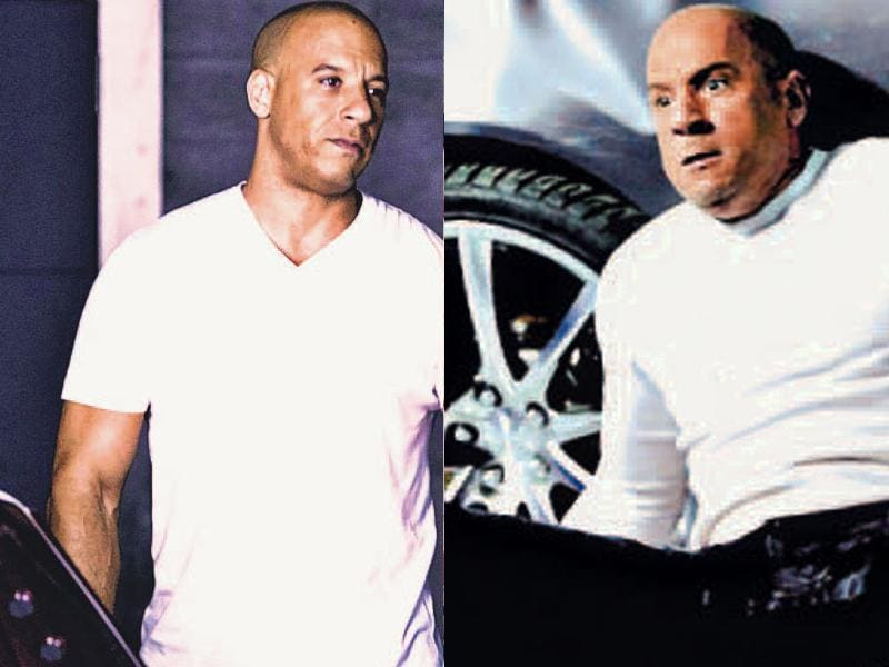 Actor Vin Diesel suffered a concussion while filming Fast & Furious 7. The Riddick star wrote on Facebook,