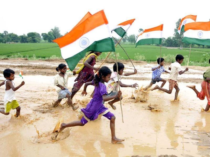 patriotic colours of india india photos hindustan times