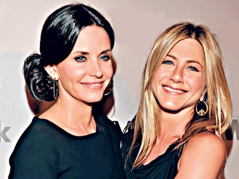 "Courtney Cox and Jennifer Aniston: After meeting on the sets of the ­popular sitcom, Friends, Courtney Cox and Jennifer Aniston have been best of buddies for 20 years now. Aniston, earlier this year, ­admitted that Cox was one of her closest friends. ""There's absolutely no judgment in Court. You'll never feel scolded. She's extremely fair, ridiculously loyal and ­fiercely loving. I've slept in her guest bedroom a lot. Without giving away too much of my private stuff, all I can say is she's been there for me through thick and thin (sic),"" she says."