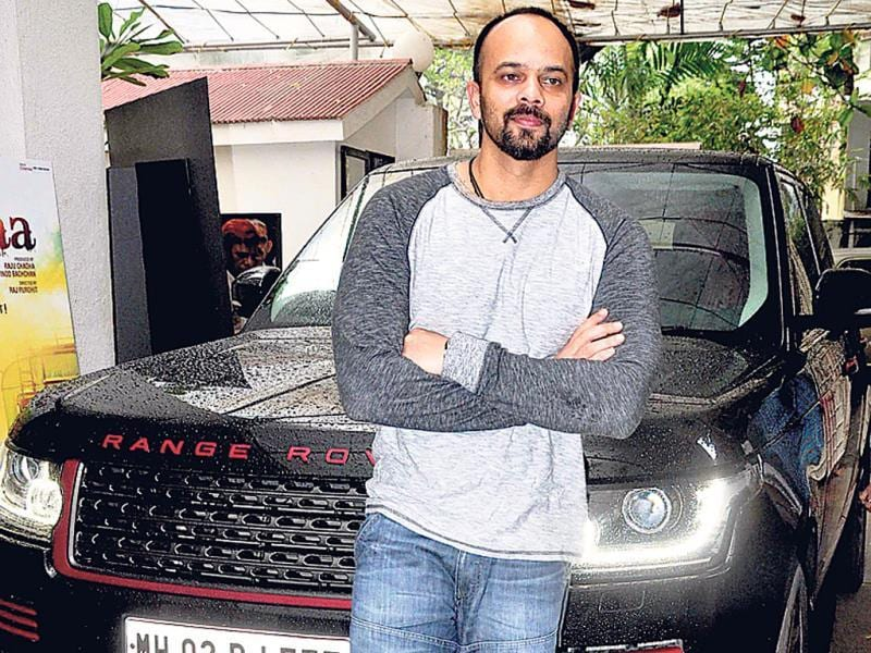 Here's how your car could serve as a backdrop for a photo, like it did for Rohit Shetty. (Photo: Yogen Shah)