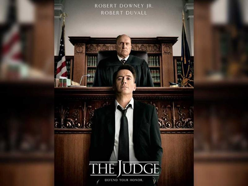 Robert Downey Jr's upcoming film The Judge seems to be really close to his heart. While revealing its first look on his Twitter account, he wrote,