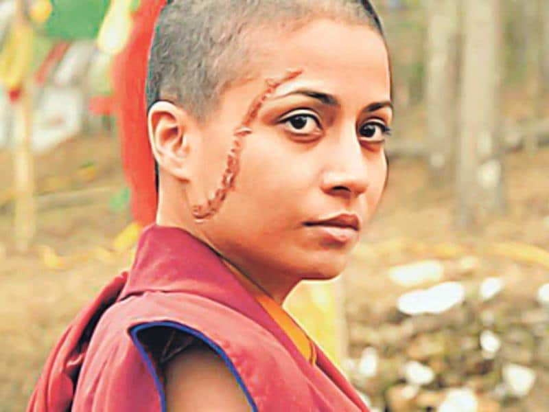 Antara Mali had cut her long tresses for Amol Palekar's film, And Once Again (2010), adopting a deglamourised avatar to essay the role of a monk in Sikkim.