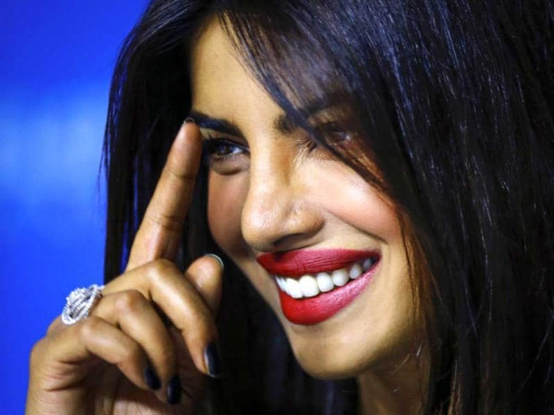 Bollywood actress Priyanka Chopra speaks during the news conference for Mary Kom at the Toronto International Film Festival (TIFF) in Toronto, September 4, 2014. (Photo: Reuters)