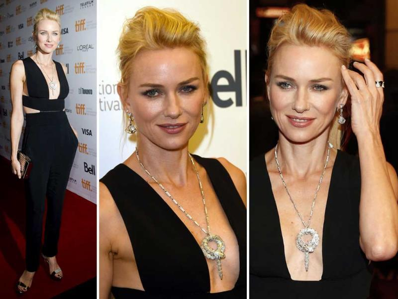 Actor Naomi Watts attends the St. Vincent premiere during the 2014 Toronto International Film Festival at Princess of Wales Theatre on September 5, 2014 in Toronto, Canada. (AFP)