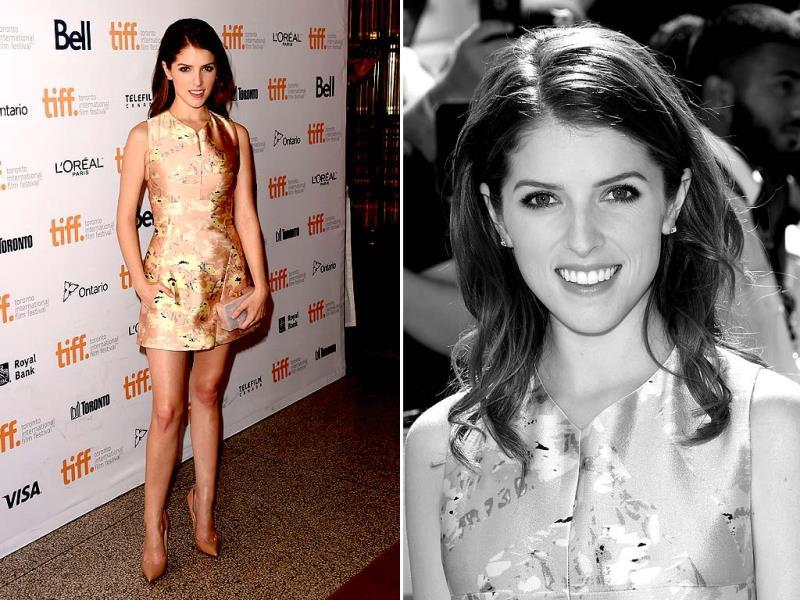 Actor Anna Kendrick attends the Cake premiere at The Elgin Theatre during the Toronto International Film Festival on Monday, September. 8, 2014, in Toronto. (Agencies)