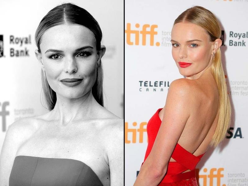 Actor Kate Bosworth attends the Still Alice premiere during the 2014 Toronto International Film Festival at Winter Garden Theatre on September 8, 2014 in Toronto, Canada. (AFP)