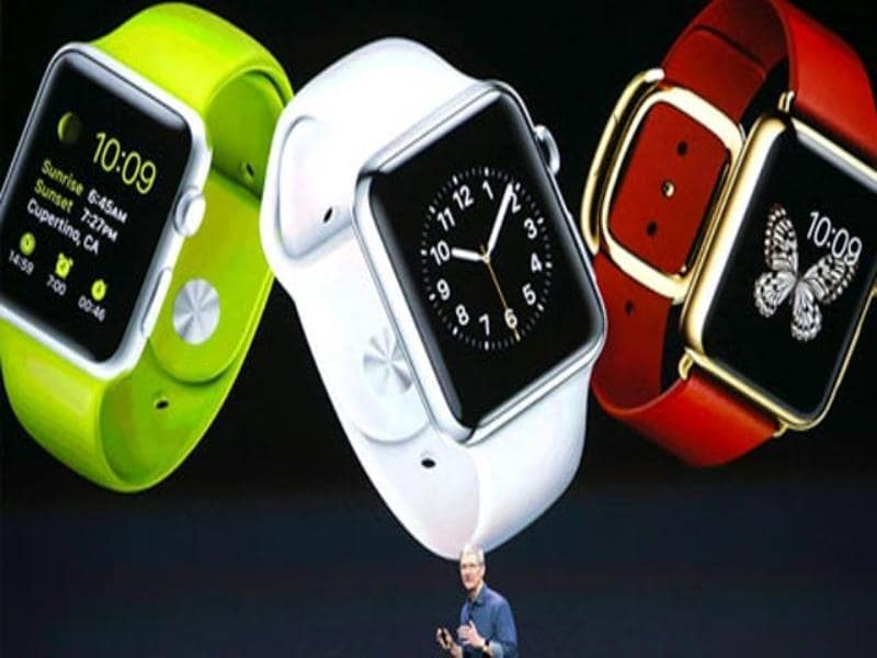 Apple Watch. (AFP Photo)