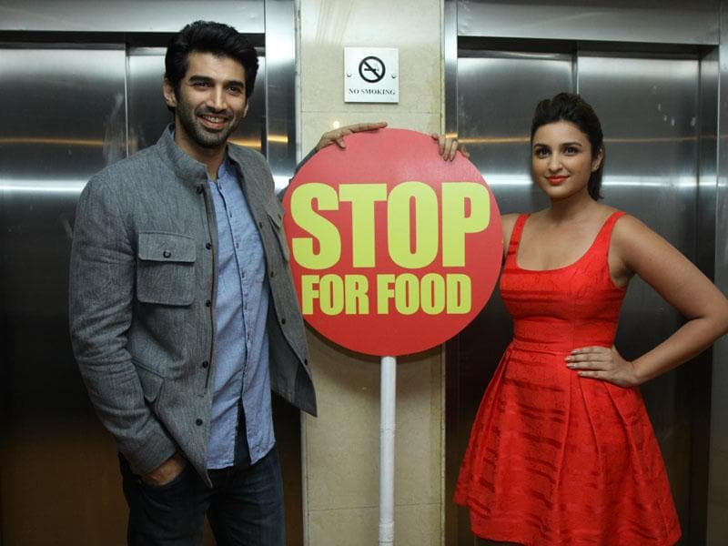 The duo aim to represent the two cultures from Hyderabad and Lucknow through the food and seem highly excited to discover exotic dishes during this food yatra which was announced during an event in Mumbai on September 9, 2014. (IANS)