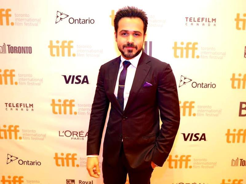 Actor Emraan Hashmi promotes his international project tigers at 2014 Toronto International Film Festival on September 8, 2014.