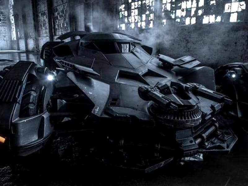 Zack Snyder revealed the image of Batmobile. It is a world apart from The Dark Knight's Tumbler.