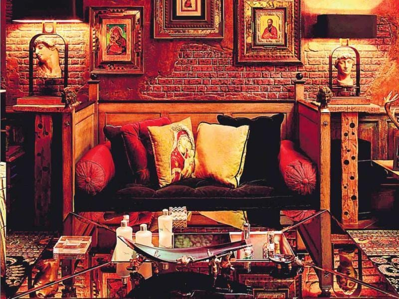 "Gauri, who styled the interiors of the space, says the effort was intensive and eye opening. ""It took years of sourcing, travelling and editing to get to the point where everything looked just right,"" she says. In fact, the four years she spent devising Mannat's interiors turned the once stay-at-home celeb mother of three into a decorator."
