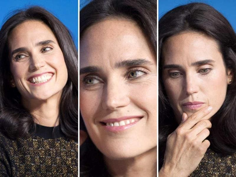 Actor Jennifer Connelly the promotion of her movie Shelter at the 2014 Toronto International Film Festival on Friday, September 12, 2014. (Agencies)