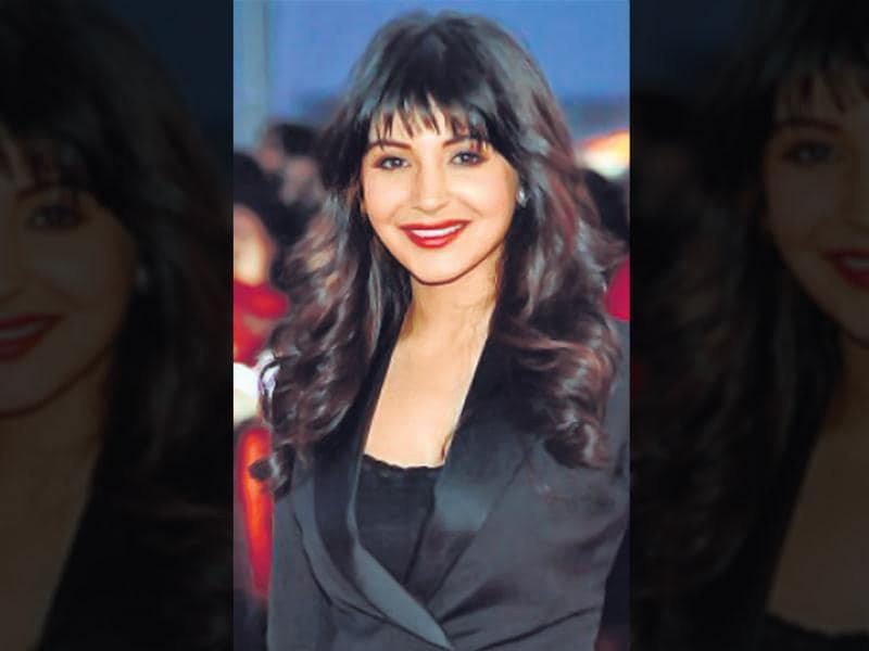 This fringe hairstyle is cut high above the brows and rolled inwards. It is inspired by the trademark fringe of American pin up model of the 1950s, Bettie Page, who is also known as the 'Queen of Pin ups.' Here are some tips to style it right, almost as right as actor Anushka Sharma.