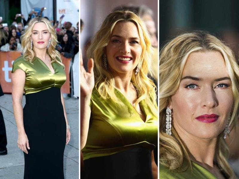 Actor Kate Winslet attends the A Little Chaos premiere during the 2014 Toronto International Film Festival on September 13, 2014 in Toronto, Canada. (AFP)