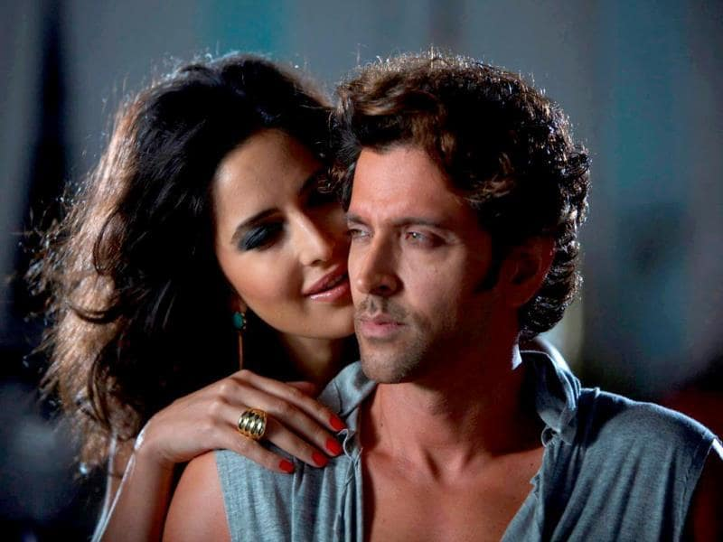 Hrithik Roshan and Katrina Kaif in a still from the title track of Bang Bang.