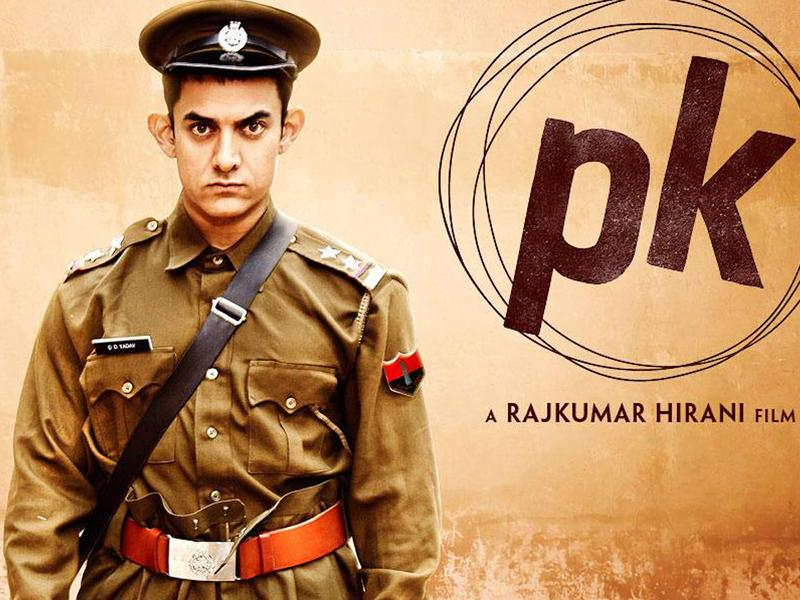 Aamir Khan dressed as a cop in PK's motion poster