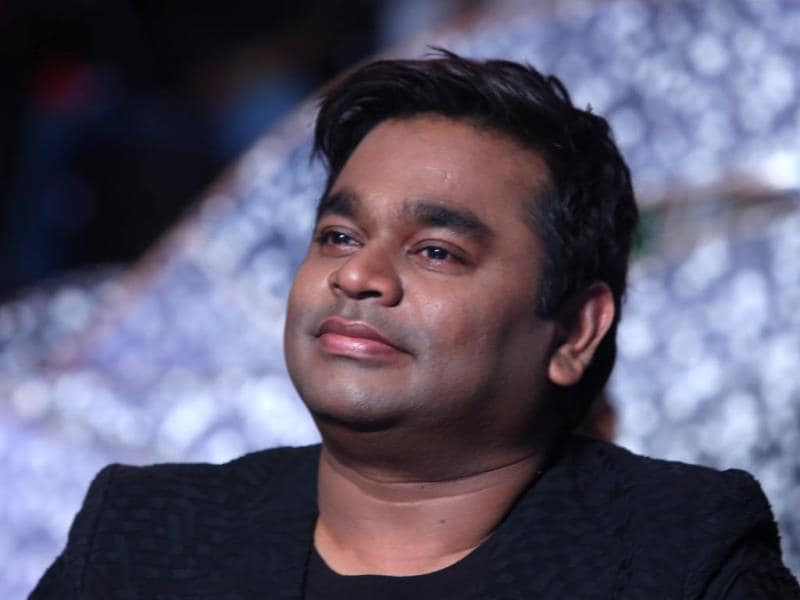 Oscar winner AR Rahman, who has composed the music for the film, at the audio launch of I in Chennai.