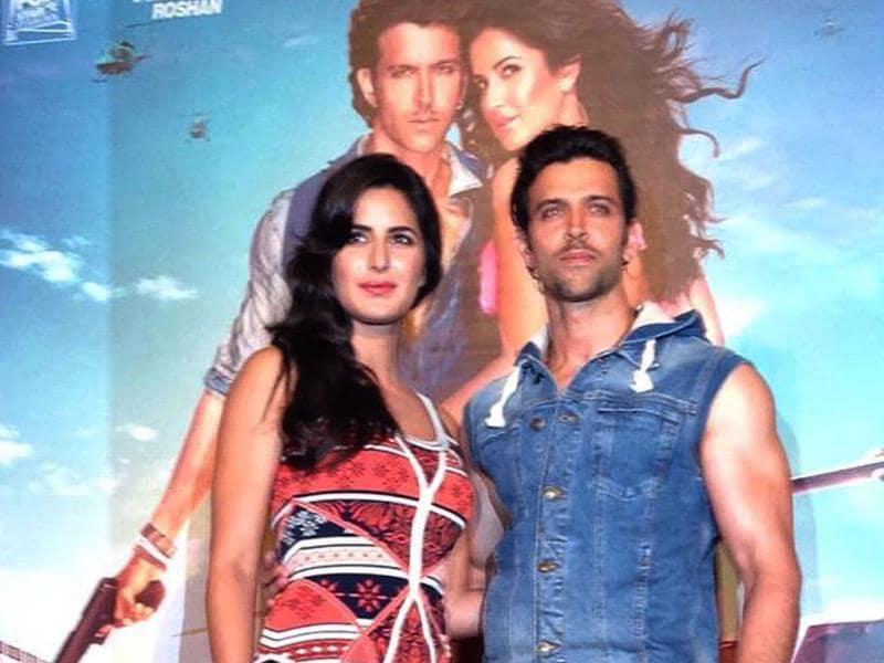 Hrithik Roshan, Katrina Kaif at song launch of Bang Bang.