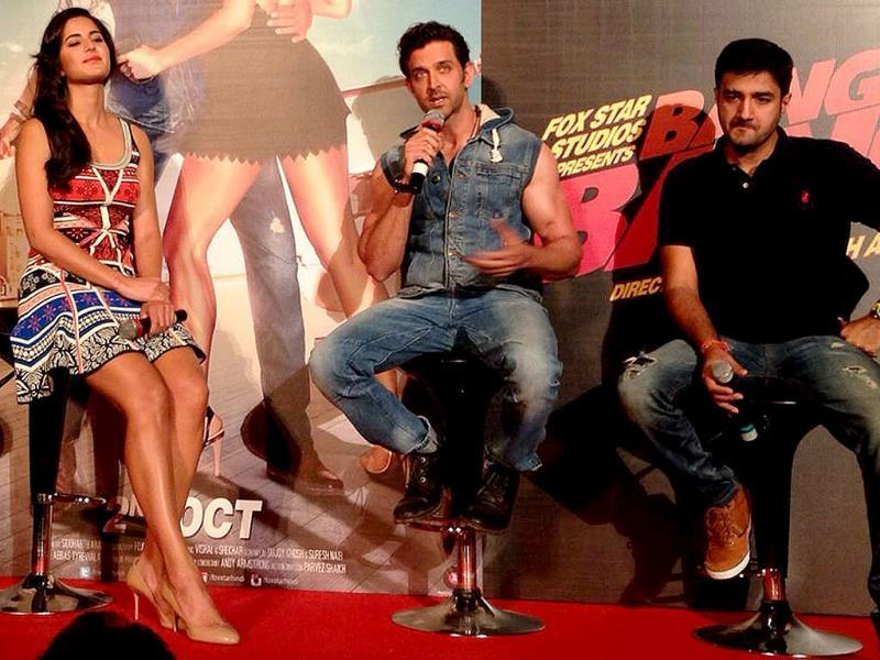 Hrithik Roshan, Katrina Kaif speak at the song launch of Bang Bang title track.