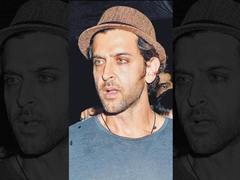 Hrithik Roshan: Out for a movie with his children, the actor was spotted wearing a trilby hat with a round neck T-shirt. Hrithik seems to make a style statement whenever he makes a public appearance