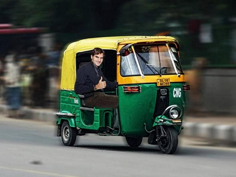 Sarah Downs @sarah19_89 Sep 23@rogerfederer Don't forget to take a Rickshaw! #PhotoshopRF