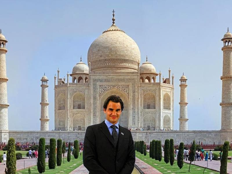 Jay Price @JayPrice21 Sep 23@rogerfederer Go to the Taj Mahal #PhotoshopRF