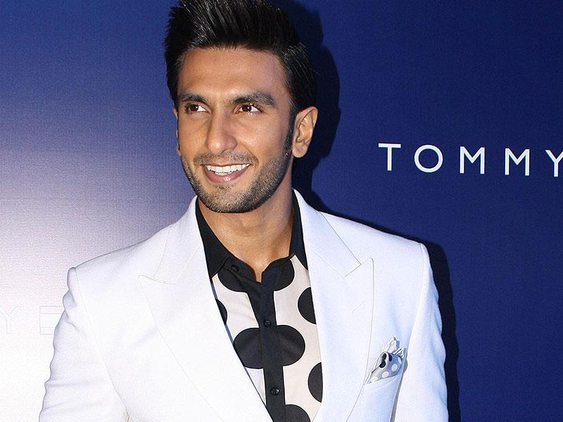 Actor Ranveer Singh at the Red Carpet of 10th anniversary of fashion brand Tommy Hilfiger in India, in New Delhi. (IANS)