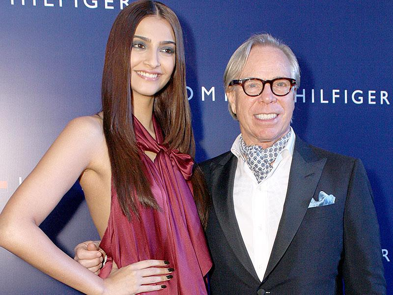 American fashion designer Tommy Hilfiger, who is in India to celebrate his brand's 10th anniversary, says he wishes to work with Bollywood actress Sonam Kapoor as he finds the perfect combination of beauty and intellect in her. (IANS)