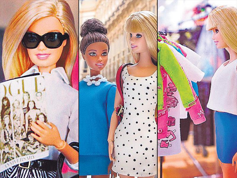 Move over replicas and odes, Barbie has her own Instagram account that follows her style evolution. From spotting her in the front row to catching her having a quick glass of wine at a French café, the diva loves all things fashionable.