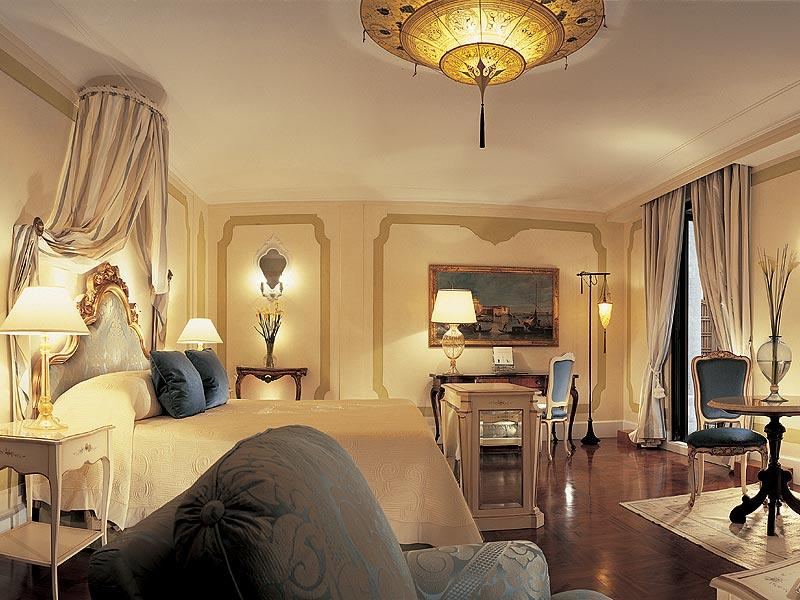 A suite at the Belmond Hotel Cipriani in Venice