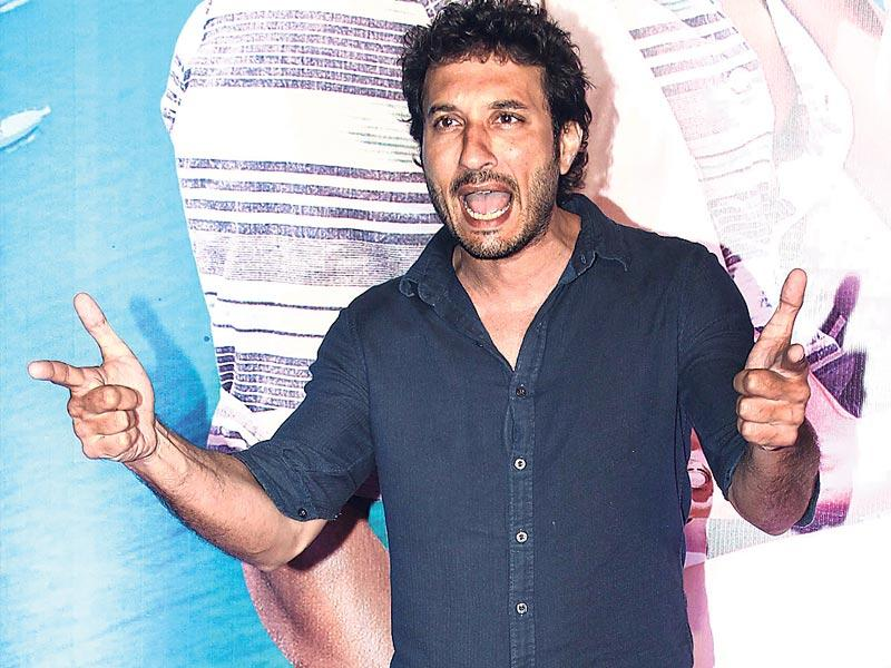 Homi Adajania spotted at a movie screening in Mumbai. (Photo: Yogen Shah)