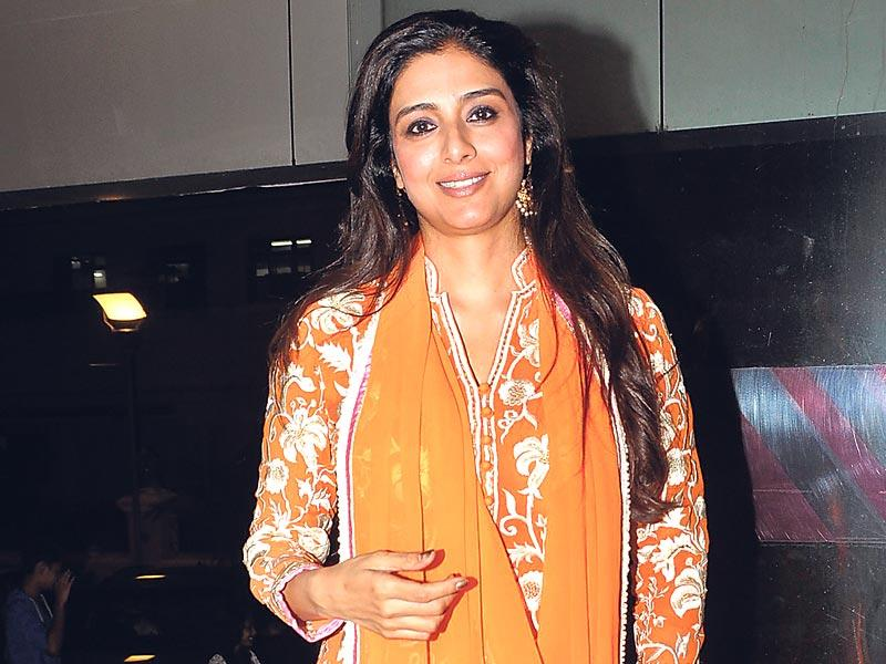 Tabu held a special screening of Vishal Bhardwaj's Haider for her friends in Mumbai. (Photo: Yogen Shah)