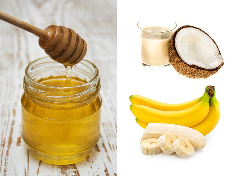 In an age of fast cars and even faster lives, taking care of your hair becomes a dreaded task. These simple DIY hair-care formulas using kitchen ingredients will make your life easier! (Photos: Shutterstock) Banana-honey hair mask: Blend 2 over-ripe bananas, mix in a tablespoon of honey and coconut milk each. And your mask is ready. Apply on hair, leave it for 20 mins and then wash it off with lukewarm water.