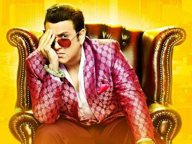 Govinda in a still from Happy Ending.