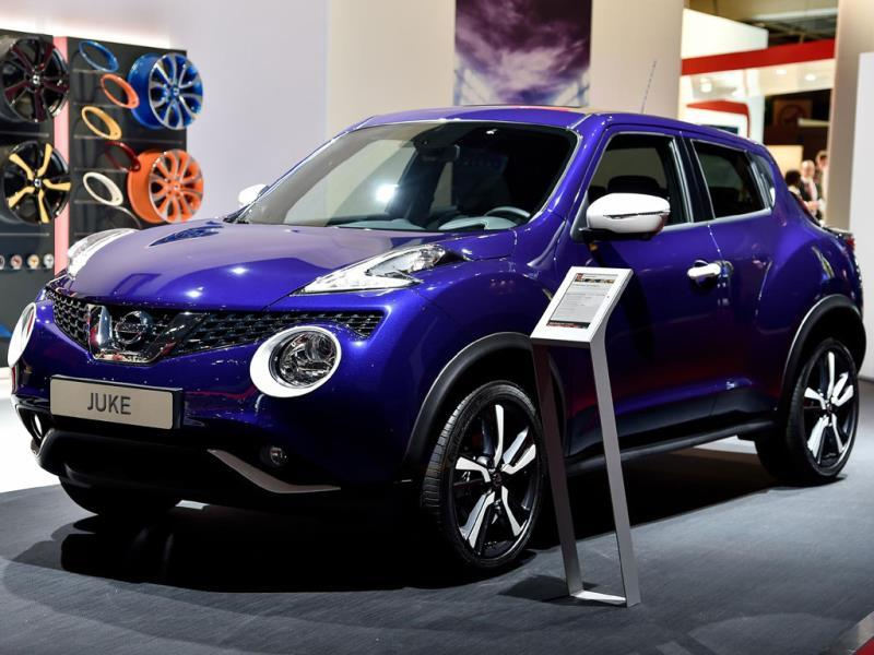 The 2014 Nissan Juke : However, stranger things have happened. Not so long ago experts were predicting that brown's days were numbered as a car color. Photo:AFP