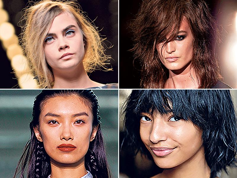 We take stock of make-up trends from the recently concluded fashion weeks of New York, London, Milan and Paris. (AFP)