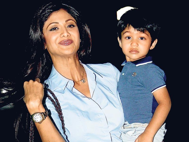 Bhushan Kumar celebrated his son Ruhaan's birthday along with his wife Divya Khosla Kumar and numerous celebrity kids. Shilpa Shetty Kundra's son Viaan attended the kiddy party. (HT Photo)