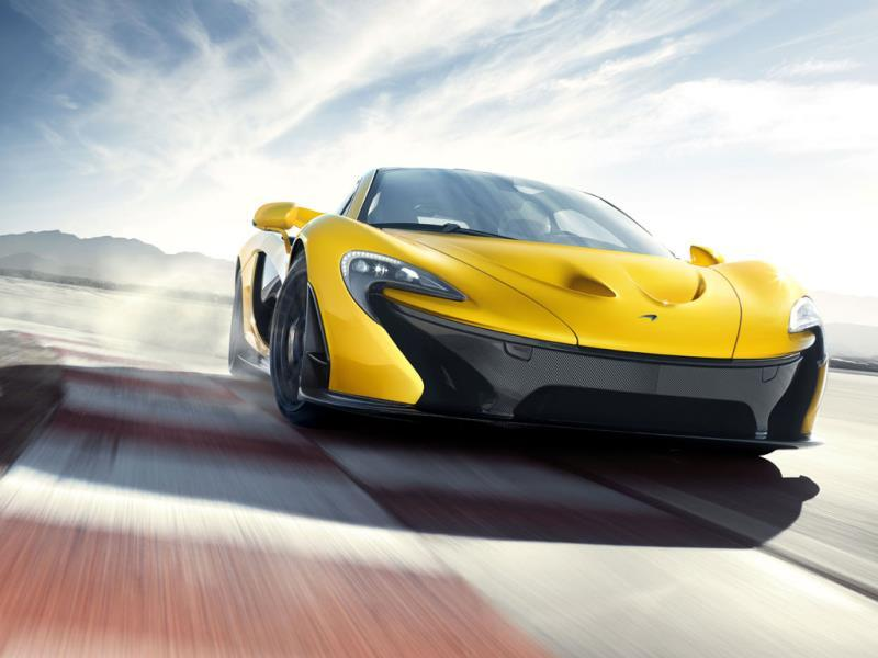 McLaren P1 0-60mph in 2.6 seconds : Another hybrid that uses a combination of petrol and electric for incredible results. McLaren is only building 375 examples and they're all sold. Photo:AFP