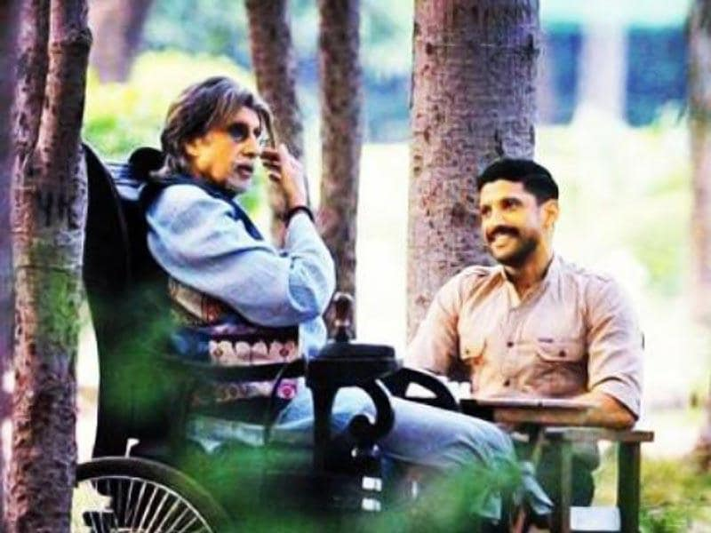 Amitabh Bachchan plays a paralysed chess master in Bejoy Nambiar's Wazir while Farhan Akhtar is an ATS officer.