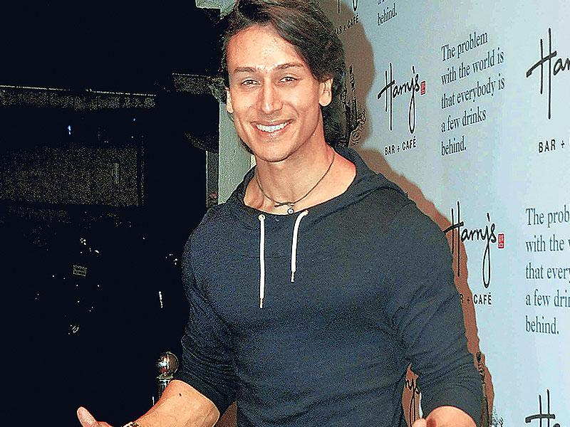 Tiger Shroff spotted at a Mumbai event. (Photo: Yogen Shah)
