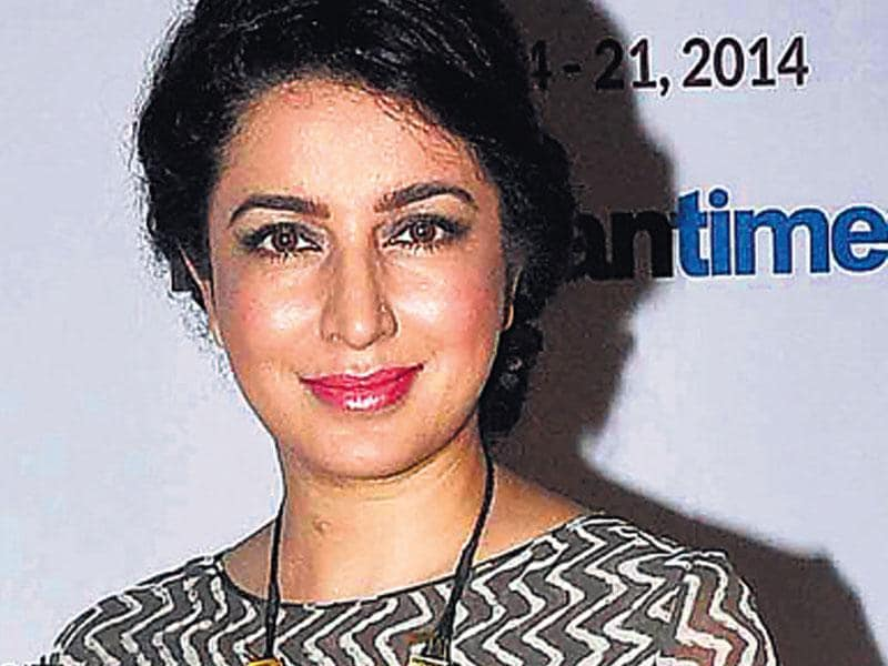 Tisca Chopra at the recently concluded MAMI. (Yogen Shah)