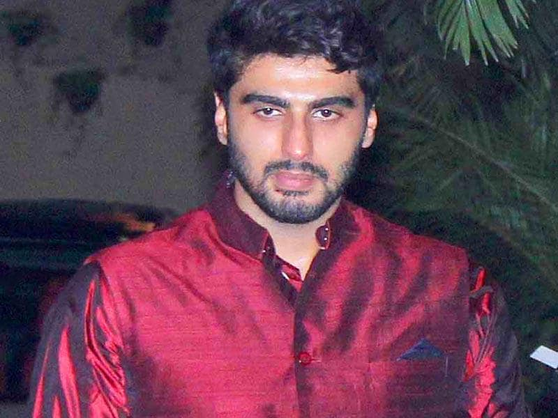 Arjun Kapoor at the Bachchan's Diwali party (Yogen Shah, HT Photo)