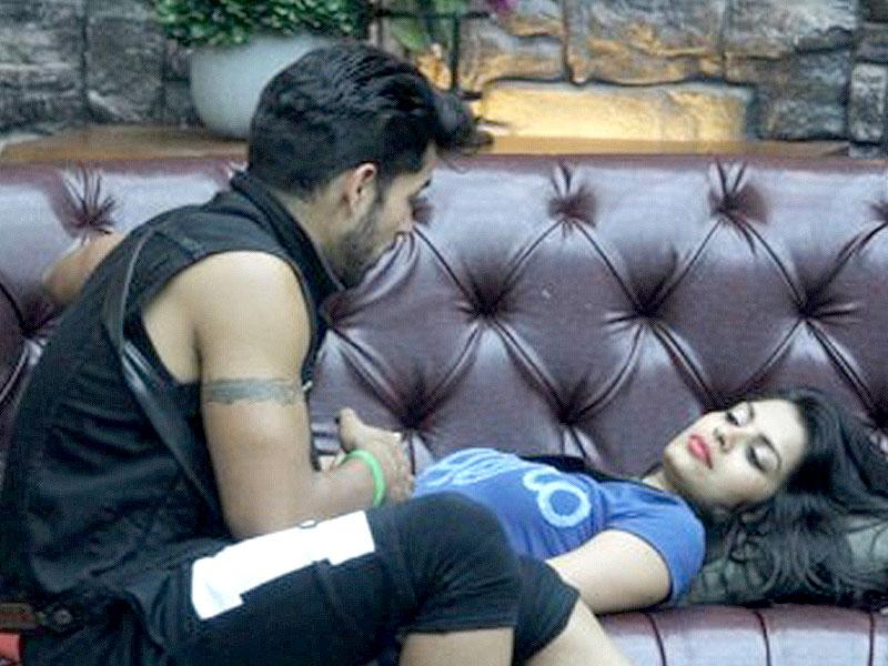Gautam and Sonali in Bigg Boss house.