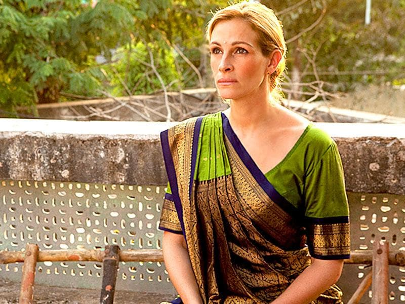 We may not have been enamoured by Eat Pray Love but we were swept away by her in this saree. A true wowzaa moment!