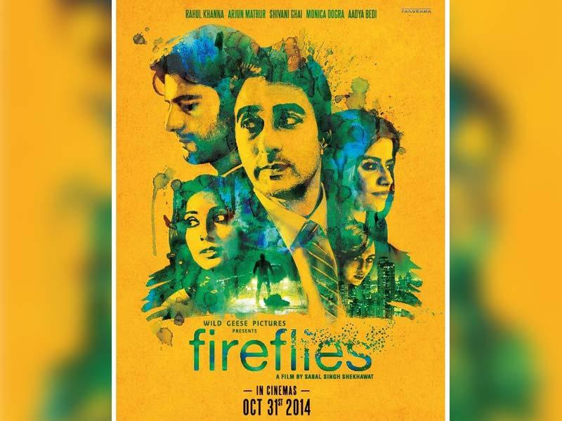 A poster of Fireflies.